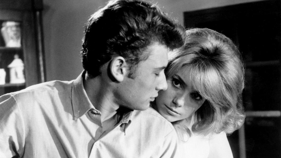 Johnny Hallyday et Catherine Deneuve: une folle passion cachée