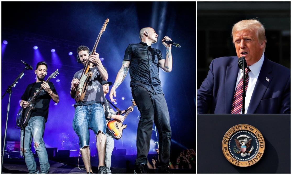 Linkin Park obtient le retrait d'une vidéo de Trump sur Twitter