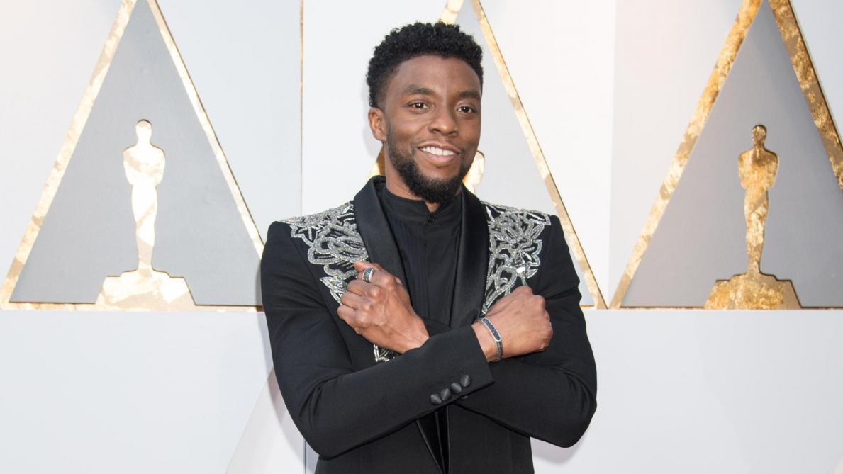 La star pourrait être honorée aux Oscars — Chadwick Boseman