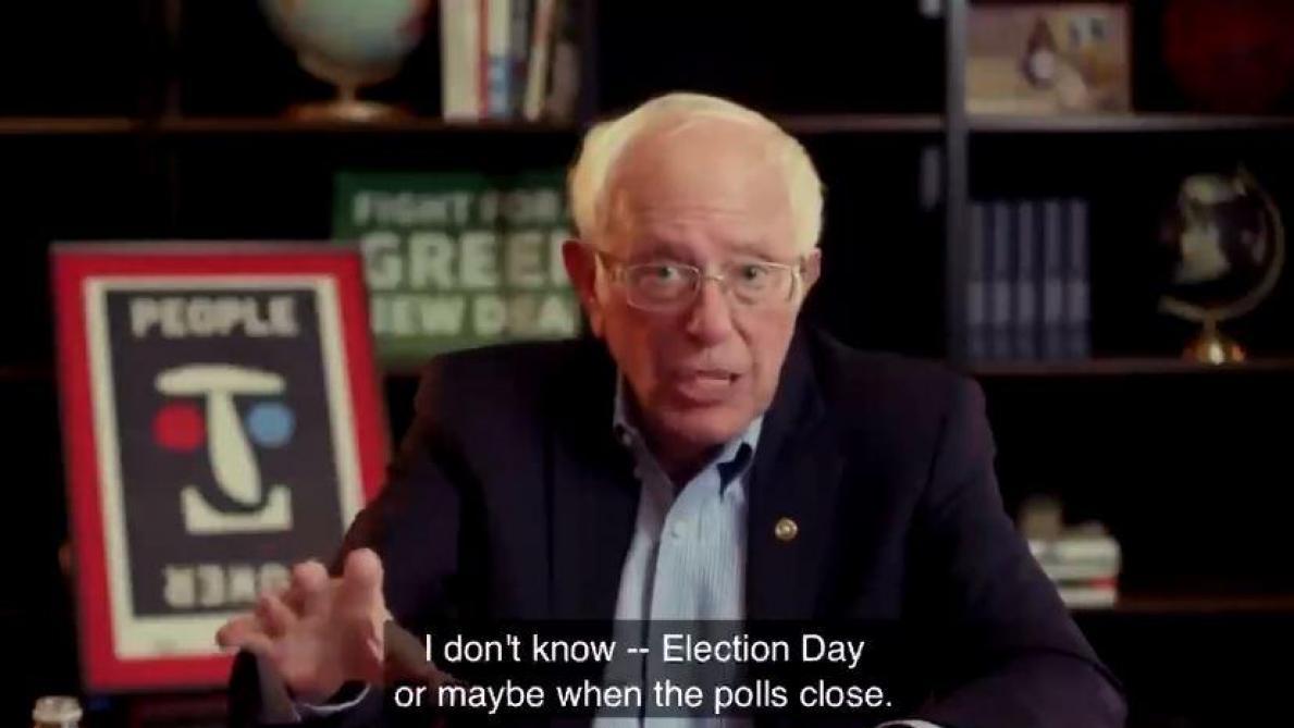 Quand Bernie Sanders prédisait de manière exacte le scrutin — Présidentielle américaine
