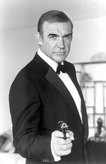 Erster James Bond Darsteller