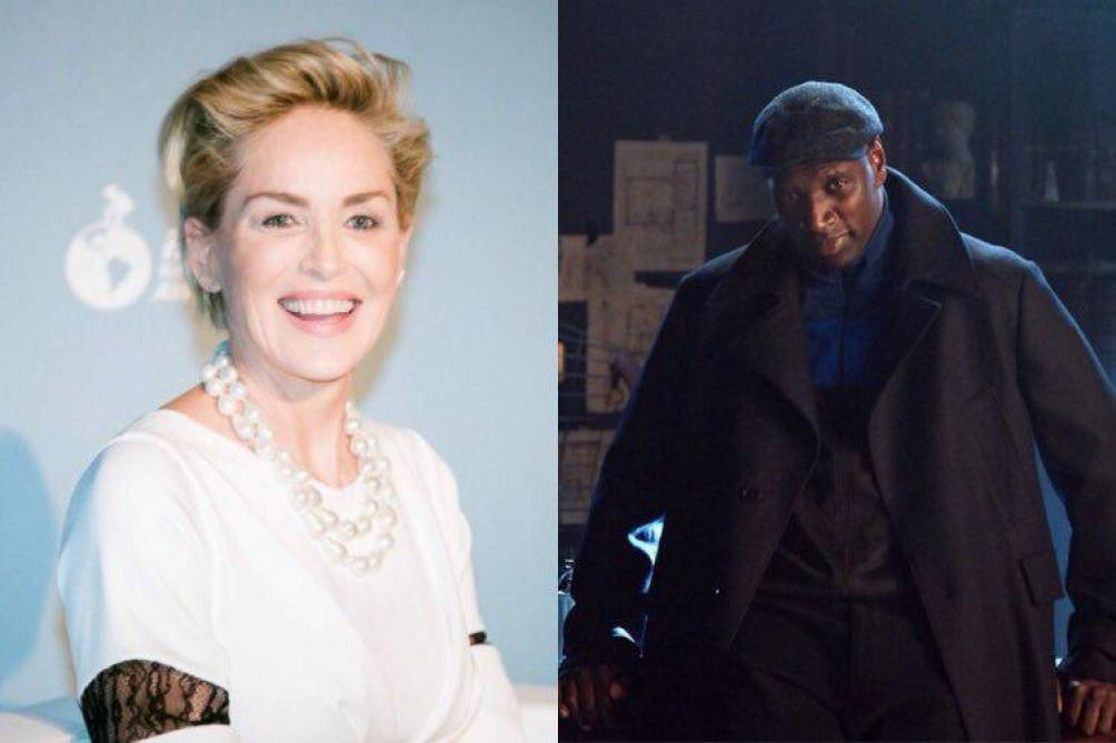 Selon Sharon Stone Lupin est encore un super projet d'Omar Sy