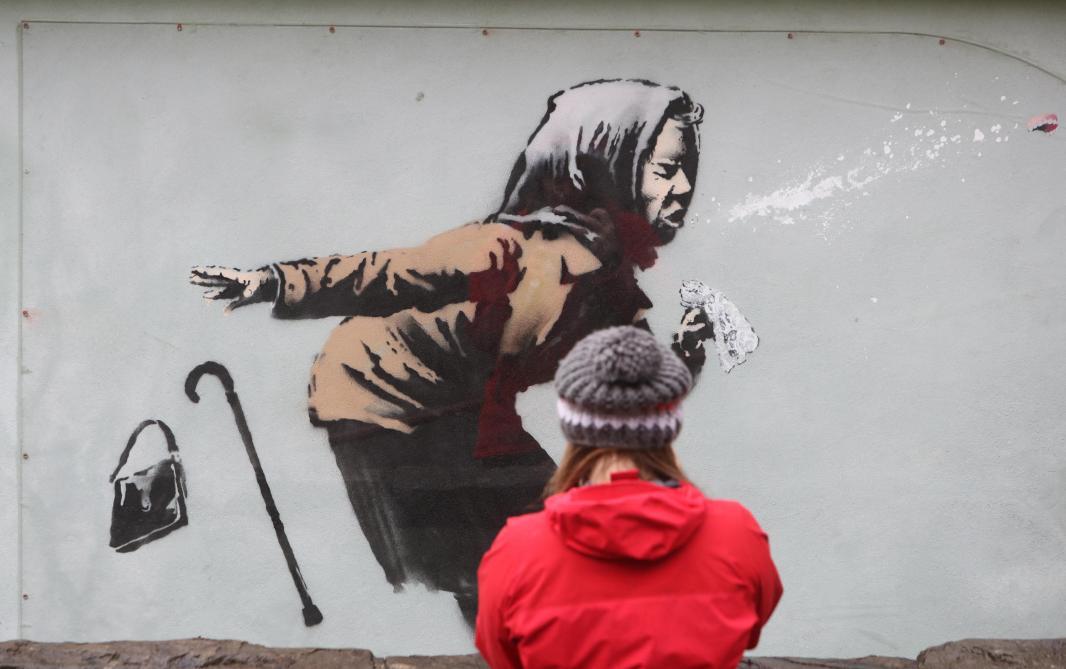 Une exposition autorisée de Banksy fin mars à Bruxelles - Le Soir