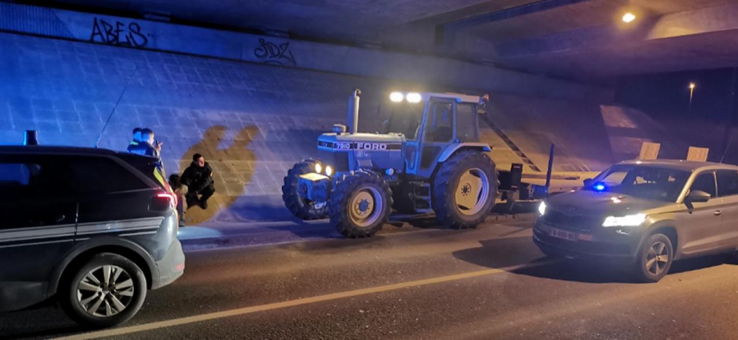 Ivre, il tente de semer les gendarmes… avec un tracteur à 30 km/h