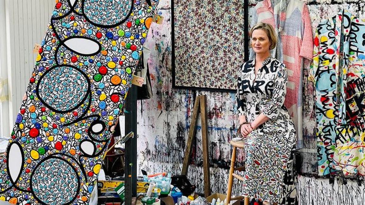Princess Delphine of Belgium goes into fashion (photos)