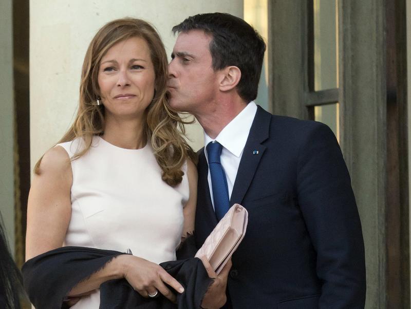 Manuel Valls et Anne Gravoin, c'est terminé