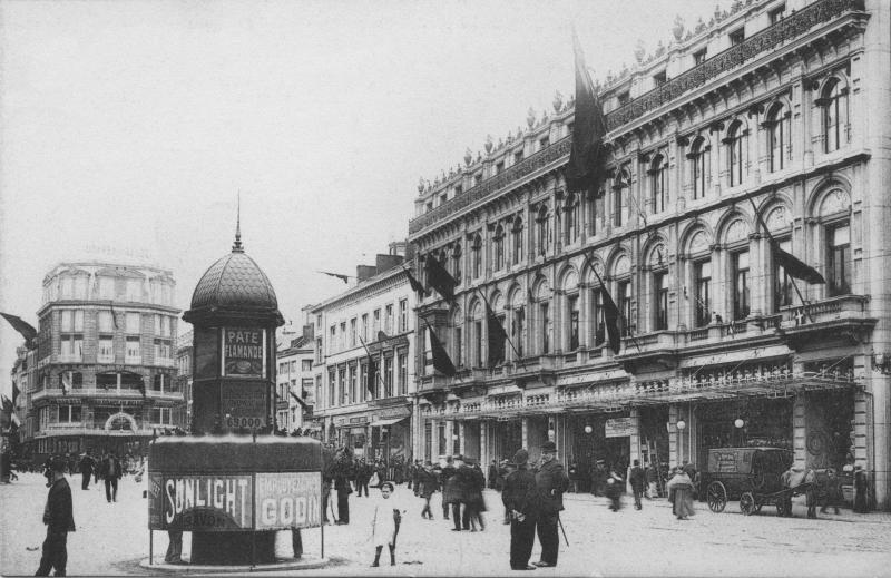 Place Saint Lambert à Liège en 1907